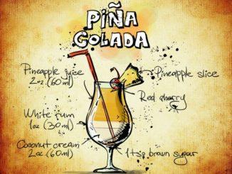 Pina Colada selbst mixen