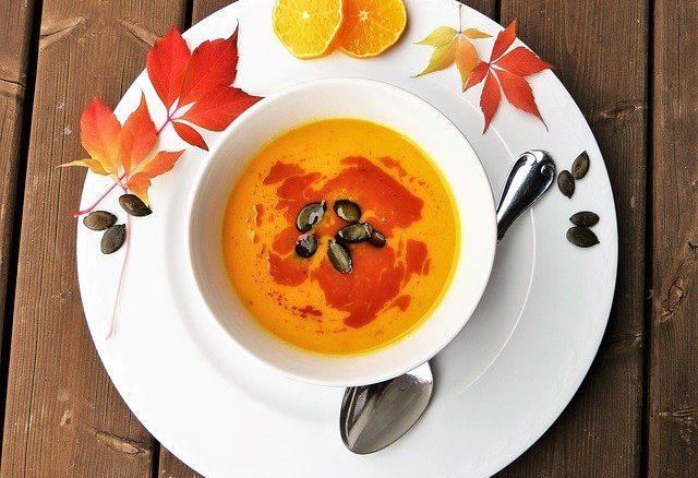 Kürbiskernsuppe